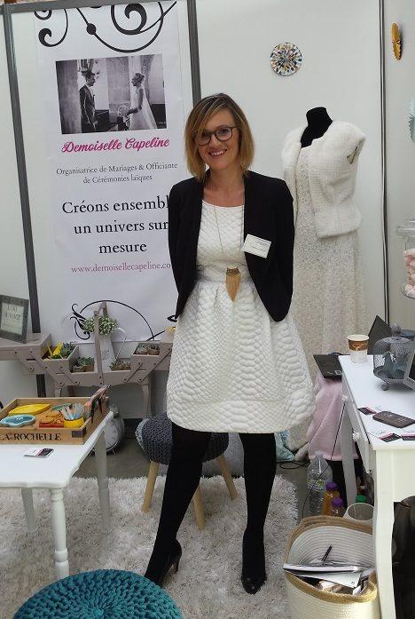 Marie -Demoiselle capeline wedding planner