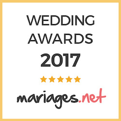 Wedding awards 2017 sur mariages.net