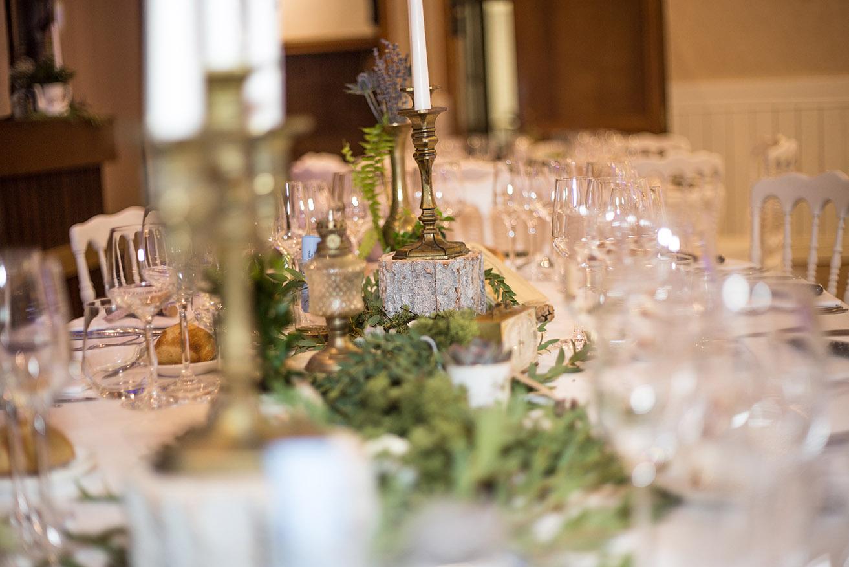 TENDANCES MARIAGES 2019 - demoiselle capeline wedding planner bretagne rennes - table mariage chic et champêtre