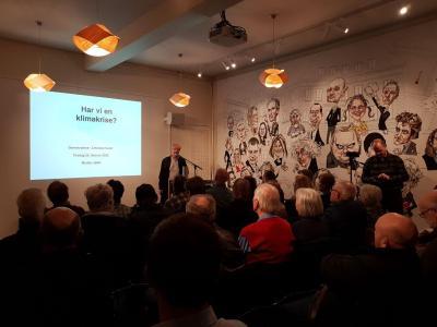 Demokratene Viken arrangerte foredrag i Litteraturhuset i Oslo