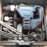 1-1/2″ SDS Plus Rotary Hammer Drill 3 Functions