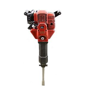 KCHEX>52cc Epa Gas motor Demolition Electric Concrete Breaker Punch Drill Jackhammer>The gasoline powered jack hammer is a full commercial grade unit