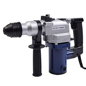 Goplus 850W Electric Rotary Hammer Drill SDS Chisel Kit with Case