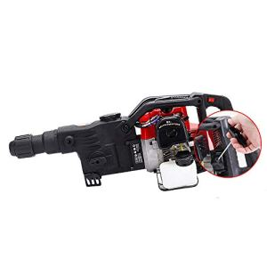 Gasoline Impact Drill Gsoline Power Hammer 32.7cc 2 Stroke Pick Drilling Machine Gasoline Demolition Jack Hammer Concrete Breaker Punch Chisel Bit 1800 Watt