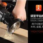 ANXIANG Electric Power Tools Impact Drill Hammer Drill 220v Household Power Electric Rotary Hammers and Accessories (Color : Set 5)
