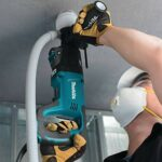 Makita HR2641X1 SDS-PLUS 3-Mode Variable Speed AVT Rotary Hammer with Case and 4-1/2″ Angle Grinder, 1″ (Renewed)