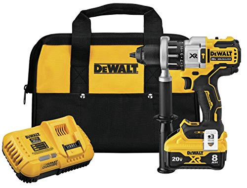 DEWALT 20V MAX XR Rotary Hammer/Drill Combination Kit, 2-Inch, Brushless, Power Detect Tool Technology (DCD998W1) (Renewed)