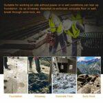 DNYSYSJ 52CC 2 Stroke Gas Powered Demolition Jack Hammer Concrete Breaker Drill with 2 Chisels Jackhammers
