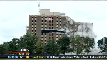 The Implosion was covered on every major news source