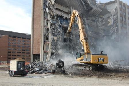 Adamo aims high in Detroit… | Demolition News