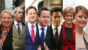 The Diverse cast of general election 2015