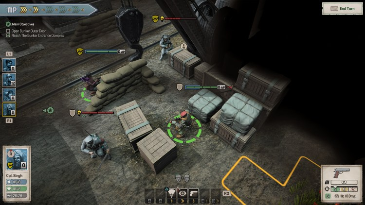 Achtung! Cthulhu Tactics PS4 review 1
