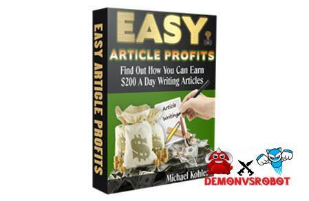 Easy Article Profits + OTOs