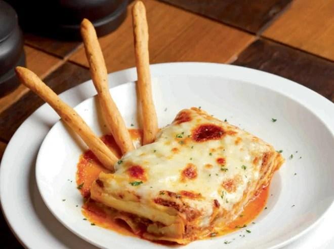 Recette Les lasagnes quatre fromages