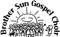 Brother Sun sfondo bianco