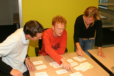 Cardsorting met meerdere respondenten tegelijk