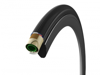 Vittoria tubular Corsa G+ 23×700 črna/anth 320 TPI Isog