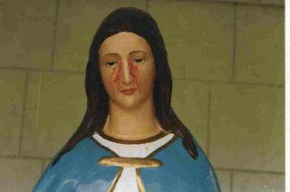 Maria en haar maandelijkse bloeding