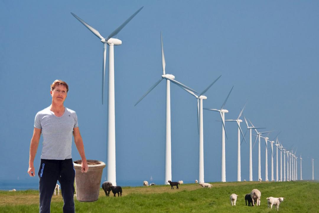 Slobbeland wordt windmolenpark