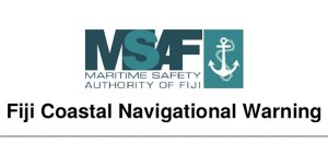 NOTMAR Fiji Coastal Navigational Warning