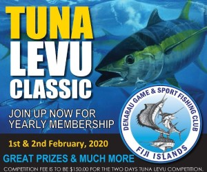 The Tuna Levu being held on the 1st & 2nd February 2020