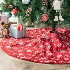 Pie Cubre Arbol de Navidad
