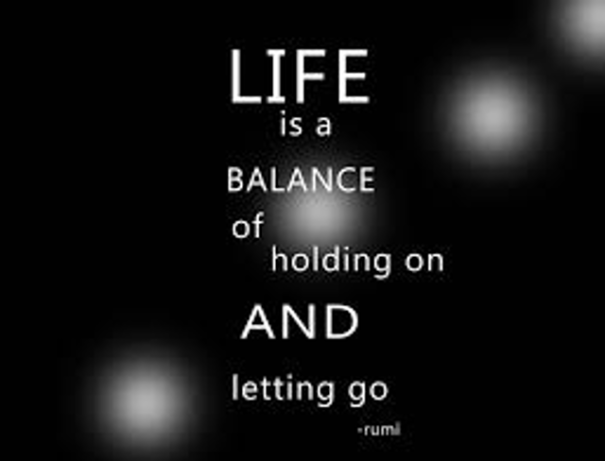 Are you holding on too tight? Do you have good balance?