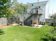 Backyard Deck and Patio