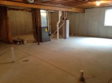Full Basement with Rough-in for Full Bathroom and Egress Window