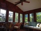 enclosed porch living space