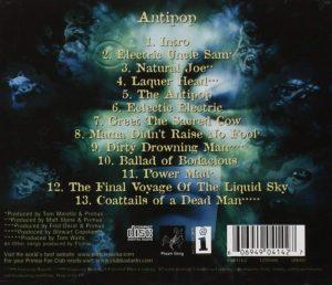 Antipop Primus - CD back