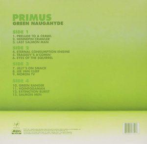 green naughahyde - primus - back