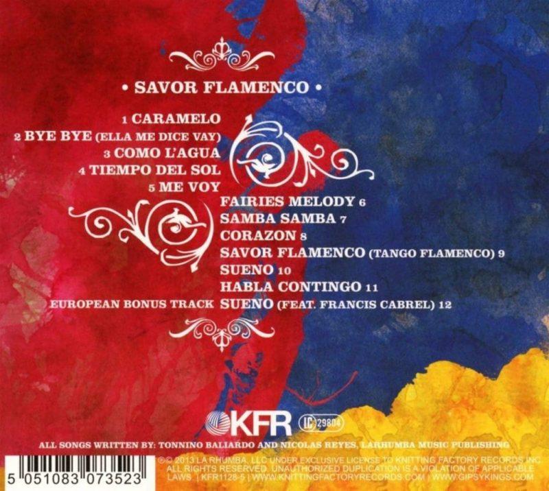 Gipsy Kings - Savior Flamenco Back - Source: Amazon Affiliate Link