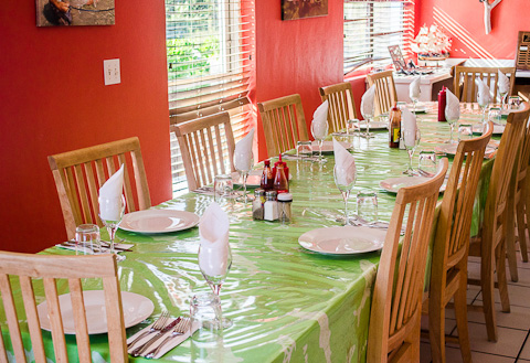 Andros South Dining Room