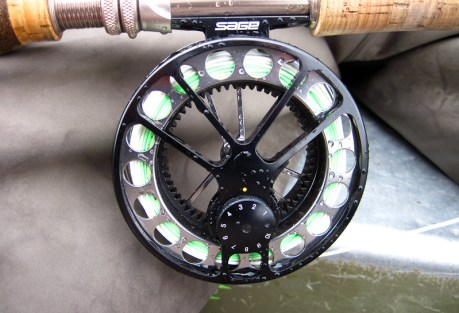 The Sage 4560 reel matches well with the 699-4.