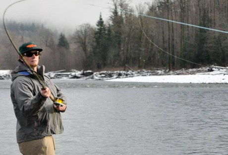 Spey Casting - Setting Up for Sweep