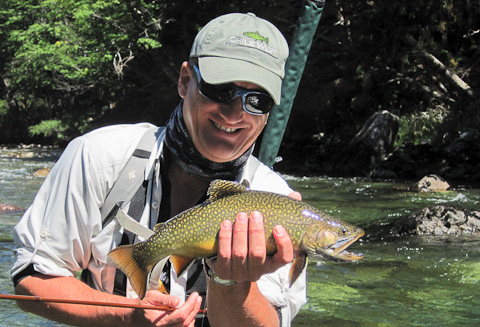 Brook Trout in Chile