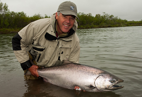 Salmon Grand Slam at Alaska West