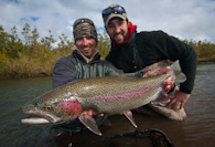 WIlderness Trout and Salmon Fishing