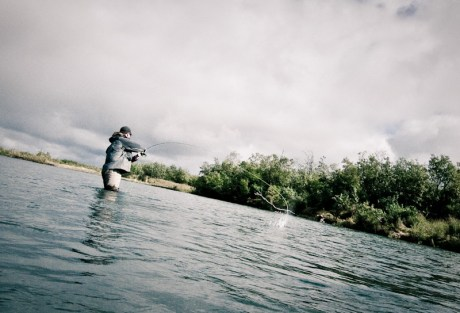 Trout Spey by Louis Cahill Photography