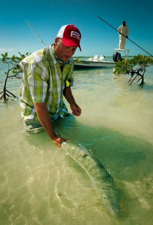 Big Bonefish by Louis Cahill Photography