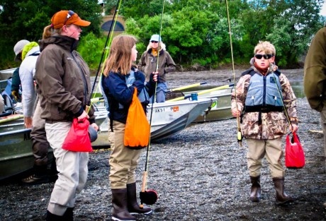Kids Ready for Fishing