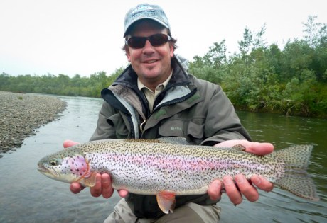 Fat Alaska Rainbow Trout