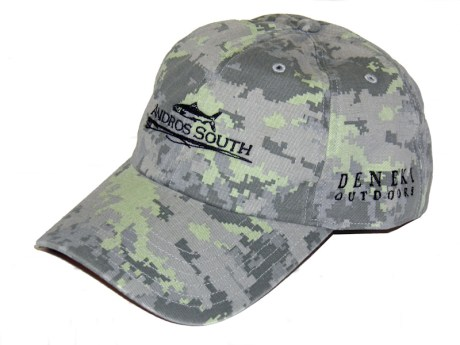 Andros South Saltwater Camo Hat
