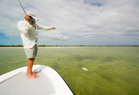 Landing Bonefish by Louis Cahill Photography