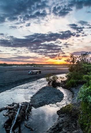 Alaska West Sunset