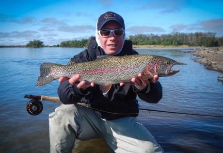Leopard Rainbow Trout in AK