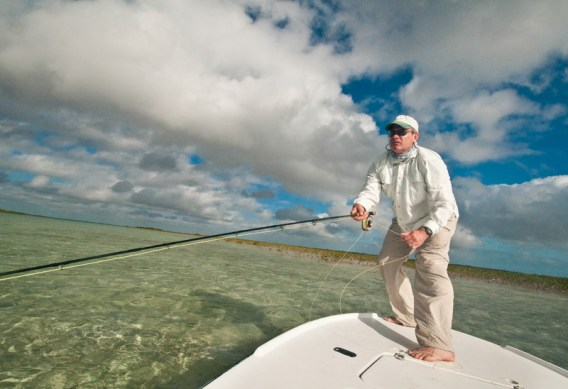 Bonefishing from a Boat by Louis Cahill Photography