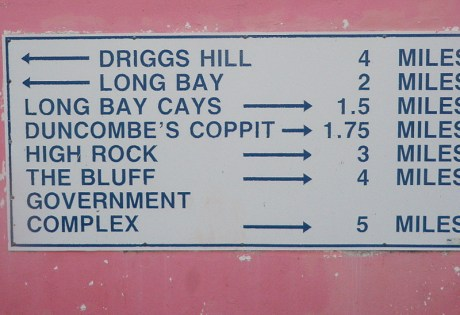 South Andros Directions