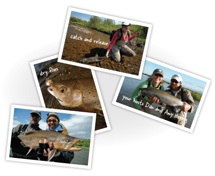 Fishing Variety at Rapids Camp